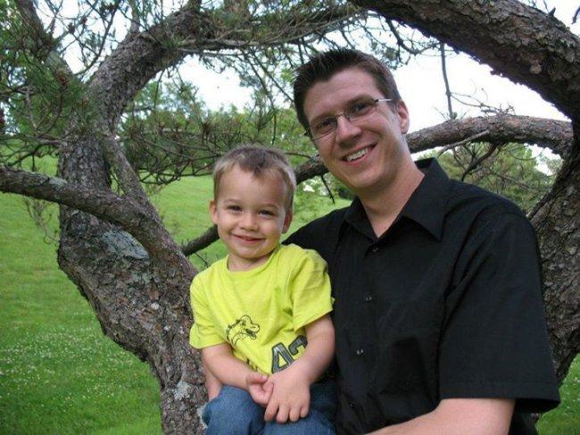 Brian and Elijah Erickson 6-2012