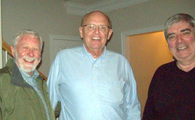 Ross Pope, Lawrence Fraley, Rick Gordon