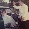 Ann Fraley and new husband Tom Weaver