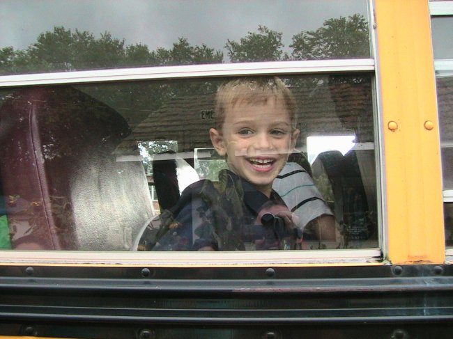 robbie-on-school-bus