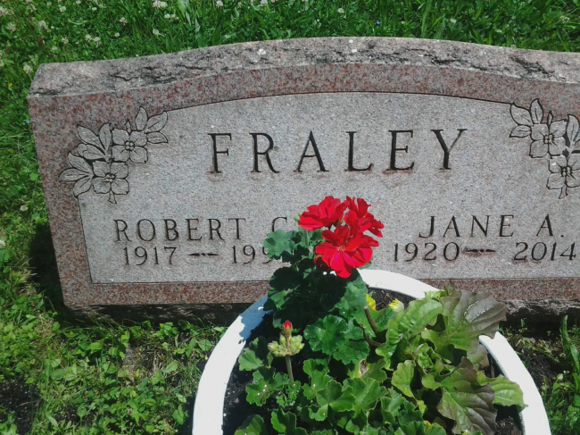 fraley tombstone