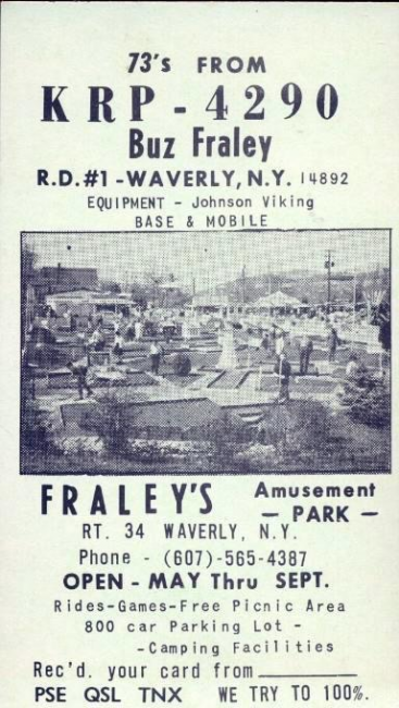 Ad for Fraley's Park