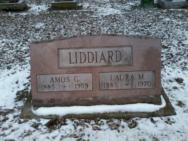 Liddiard gravestone