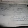 Jane, Robert Fraley marriage license